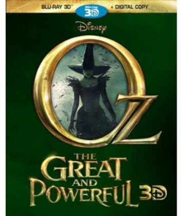 Oz the Great and Powerful (2013) (2 Blu-ray 3D)