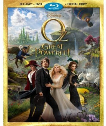 Oz the Great and Powerful (2013) (Blu-ray + DVD)