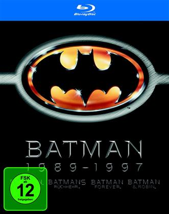 Batman 1989-1997 (4 Blu-ray)