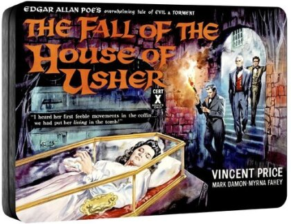 Fall Of The House Of Usher Steelbook (1960) (Steelbook)