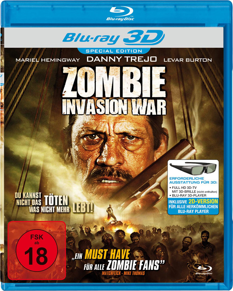 Zombie Invasion War 3D (2012) - (Blu-ray 3D (+2D))