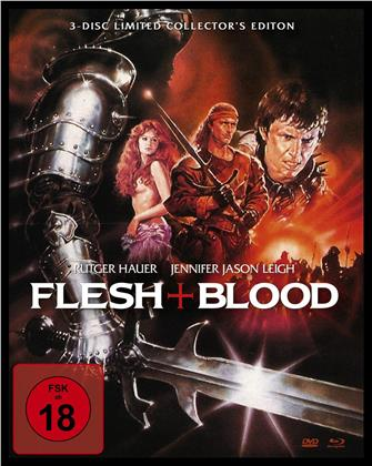 Flesh + Blood (1985) (Mediabook, Blu-ray + 2 DVDs)