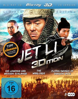 Jet Li Edition (Limited Edition, 3 Blu-ray 3D (+2D))