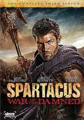 Spartacus: War of the Damned - Season 3 (Digibook, 3 DVD)