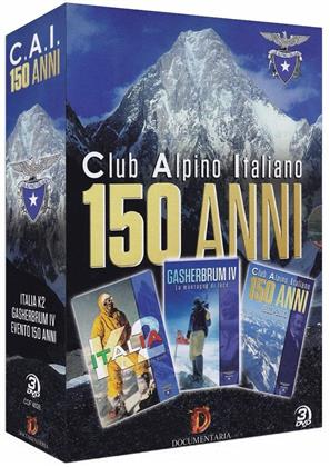 150 anni del C.A.I. (Club Alpino Italiano) - 1863-2013 (3 DVDs)