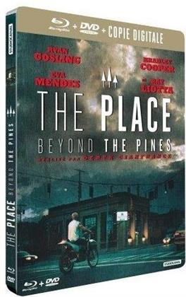 The place beyond the Pines (2012) (Steelbook, Blu-ray + DVD)