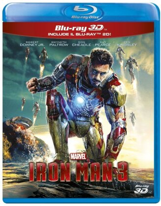 Iron Man 3 (2013) (Blu-ray 3D + Blu-ray)