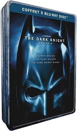 Batman - The Dark Knight - La Trilogie (Edizione Limitata, Steelbook, 5 Blu-ray)