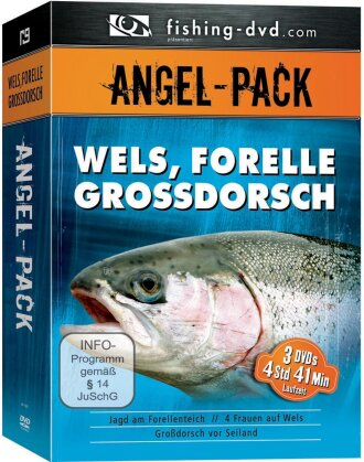 Angel-Pack - Wels, Forelle, Grossdorsch