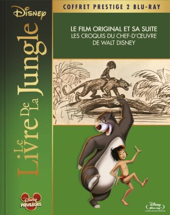 Le livre de la jungle 1 & 2 (Box, Deluxe Edition, 2 Blu-rays)