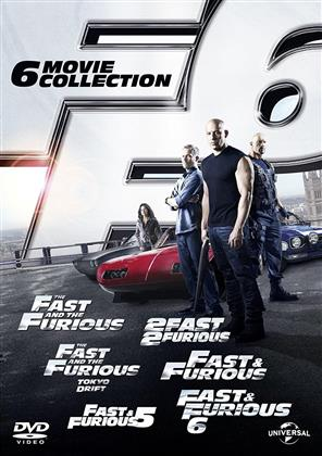 Fast & Furious 1-6 - Collection (6 DVD)