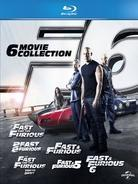 Fast & Furious 1-6 - Collection (6 Blu-ray)