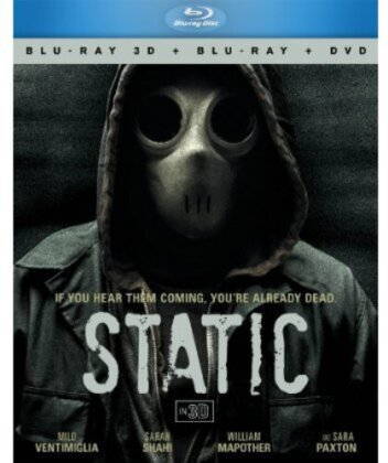 Static (Blu-ray 3D (+2D) + Blu-ray + DVD)