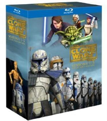 Star Wars - The Clone Wars - Seasons 1-5 (Collector's Edition, 14 Blu-rays)