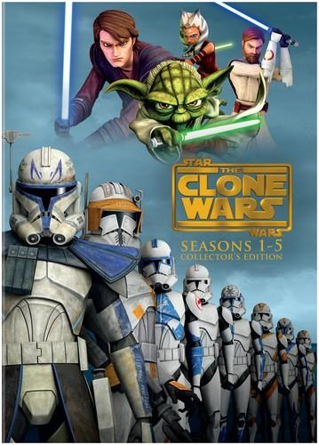 Star Wars - The Clone Wars - Seasons 1-5 (Collector's Edition, 19 DVD)