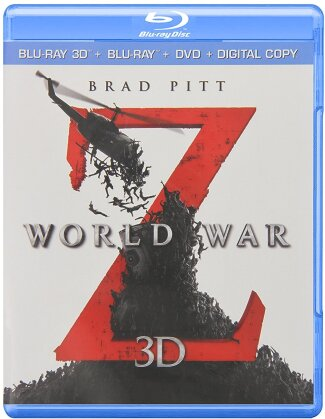 World War Z (2013) (Blu-ray 3D (+2D) + Blu-ray + DVD)