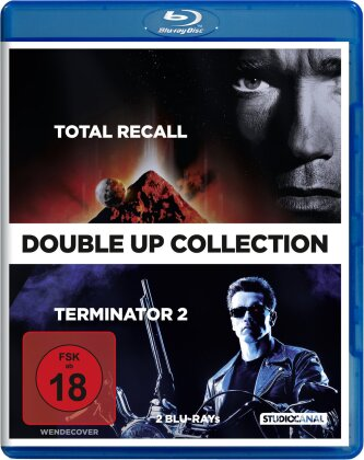 Total Recall / Terminator 2: Judgment Day (Double Up Collection, 2 Blu-rays)