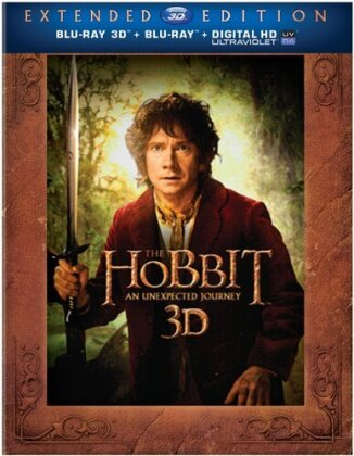 The Hobbit - An Unexpected Journey (2012) (Extended Edition, Blu-ray 3D + 4 Blu-rays)