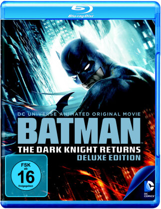 Batman - The Dark Knight Returns Vol. 1 + 2 (Deluxe Edition, 2 Blu-rays)