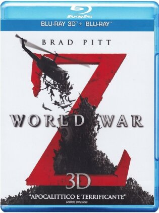World War Z (2013) (Blu-ray 3D + Blu-ray)