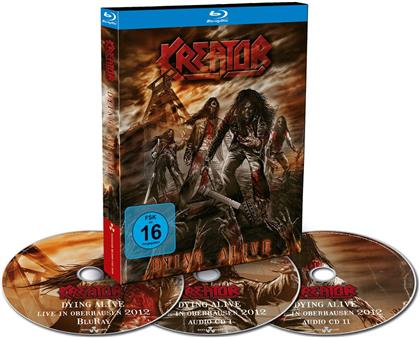 Kreator - Dying alive (Limited Edition, Blu-ray + 2 CDs)