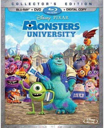 Monsters University (2013) (Collector's Edition, 3 Blu-rays + DVD)