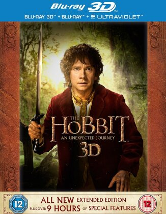 Hobbit: An Unexpected Journey - Hobbit: An Unexpected Journey [Extended Edition] (2012) (Extended Edition, 5 Blu-ray 3D (+2D))