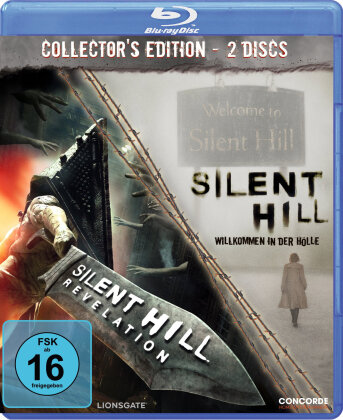 Silent Hill / Silent Hill Revelation (Collector's Edition, 2 Blu-rays)