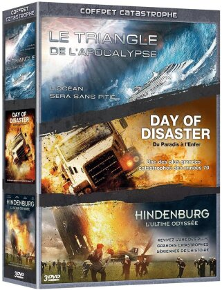 Coffret Catastrophe - Le Triangle de l'Apocalypse / Day of Disaster / Hindenburg (3 DVDs)