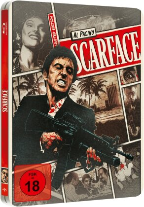 Scarface (1983) (Limited Steelbook - Reel Heroes Edition)