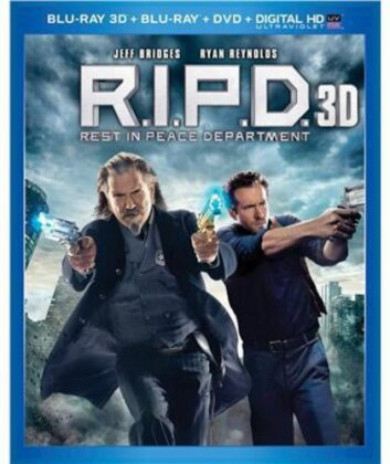 R.I.P.D. - Rest in Peace Department (2013) (Blu-ray 3D (+2D) + Blu-ray + DVD)
