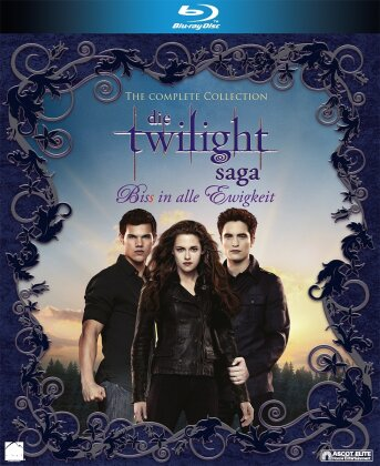 Twilight Saga - The Complete Collection Teil 1-5 (6 Blu-rays)