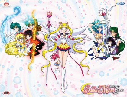 Sailor Moon Sailor Stars - Stagione 5 - Box 1 (Remastered, 4 DVDs)