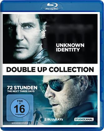 Unknown Identity / 72 Stunden - The Next Three Days (Double Up Collection, 2 Blu-rays)