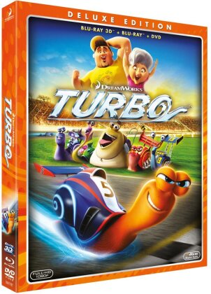 Turbo (2013) (Blu-ray 3D + Blu-ray + DVD)