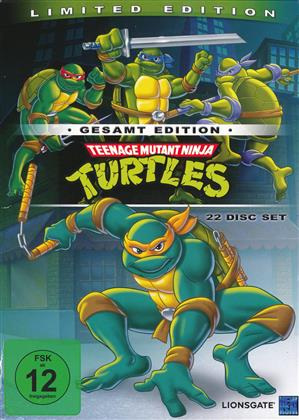 Teenage Mutant Ninja Turtles - Die komplette Serie (Gesamtedition, Limited Edition, 22 DVDs)