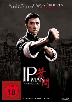 Ip Man Anthology (Limited Edition, 4 DVDs)