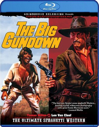 The Big Gundown (1966) (Deluxe Edition, Blu-ray + DVD + CD)