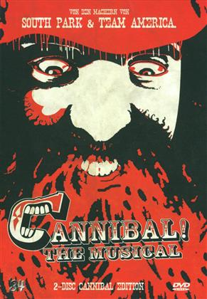 Cannibal! - The Musical (1993) (Limited Edition, Mediabook, Remastered, Uncut, 2 DVDs)