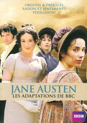 Jane Austen - Les adaptations de BBC (BBC, 4 DVDs)