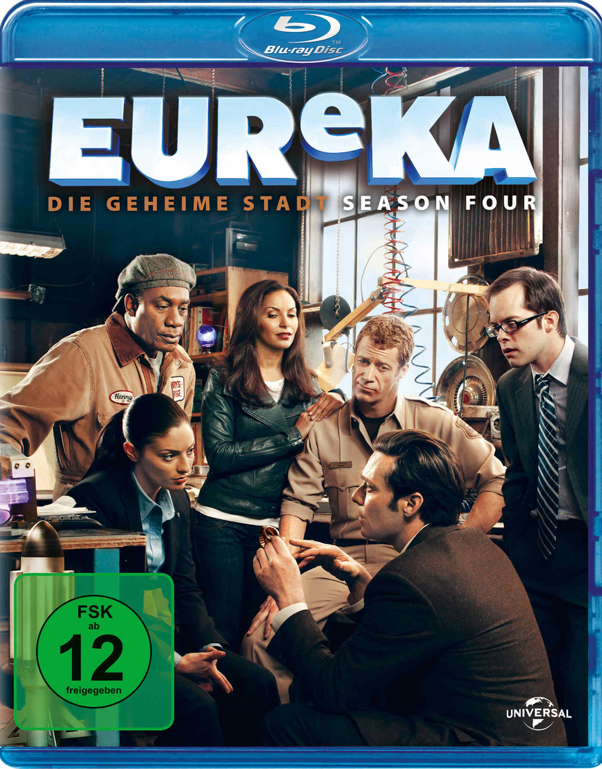 Eureka - Staffel 4 (5 Blu-rays)