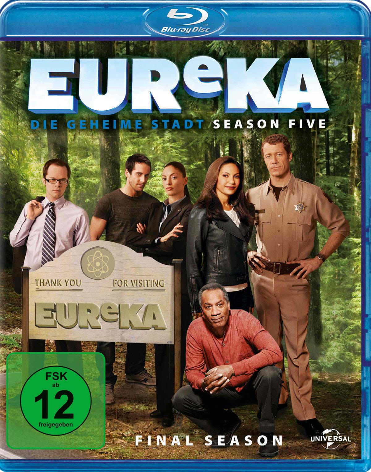 Eureka - Staffel 5 - Finale Staffel (3 Blu-rays)