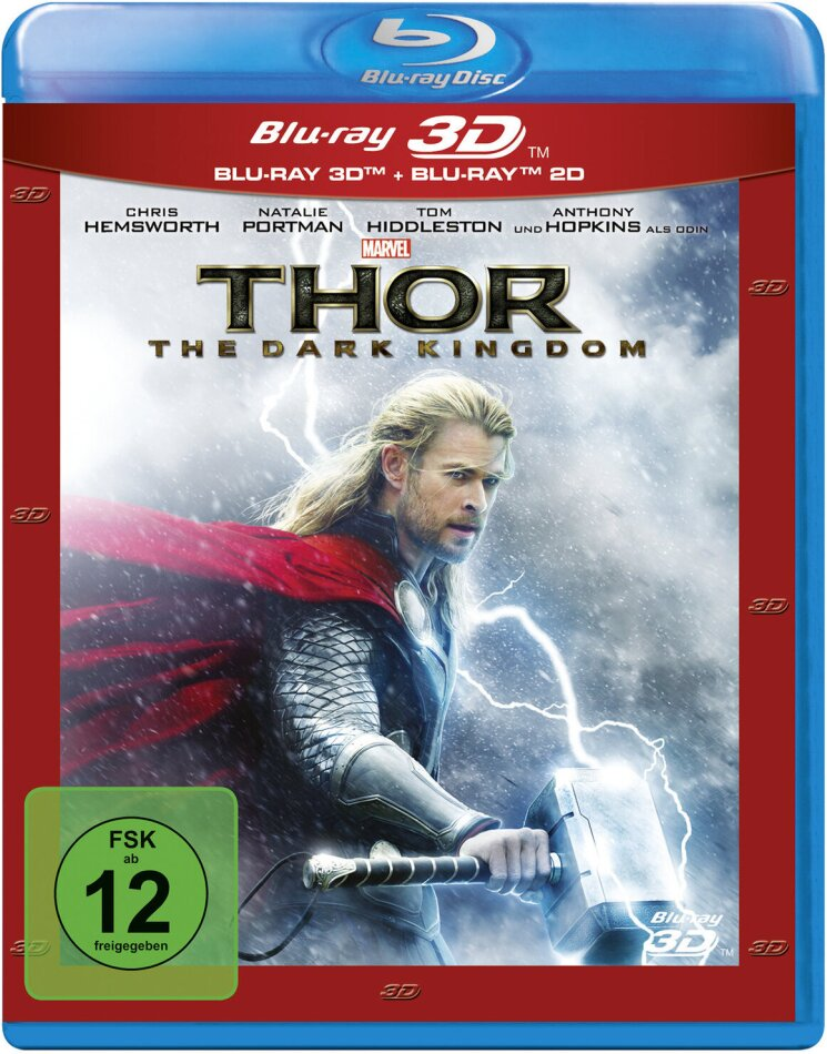 Thor 2 - The Dark Kingdom (2013) (Blu-ray 3D + Blu-ray)