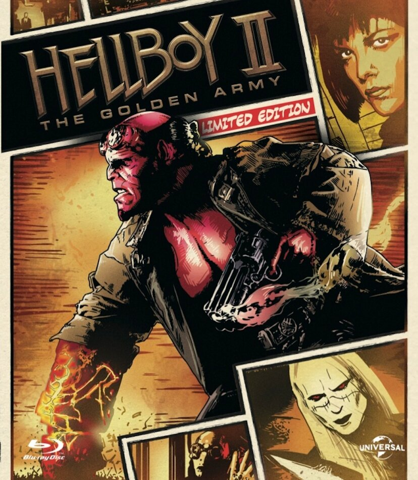 Hellboy 2 - The golden army (2008) (Reel Heroes Collection, Special Edition)