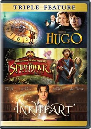 Hugo / The Spiderwick Chronicles / Inkheart - (Triple Feature 3 DVDs)
