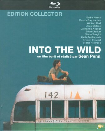 Into the Wild (2007) (Collector's Edition, Mediabook, Blu-ray + DVD)