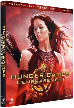 Hunger Games 2 - L'embrasement (2013) (Edizione Limitata, 3 Blu-ray + 2 DVD + CD)