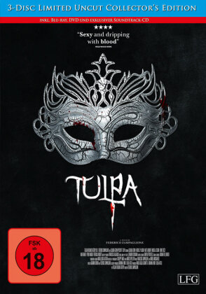 Tulpa (2012) (Collector's Edition, Limited Edition, Uncut, Blu-ray + DVD + CD)
