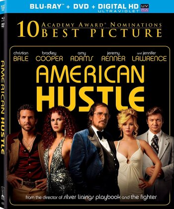 American Hustle (2013) (Blu-ray + DVD)
