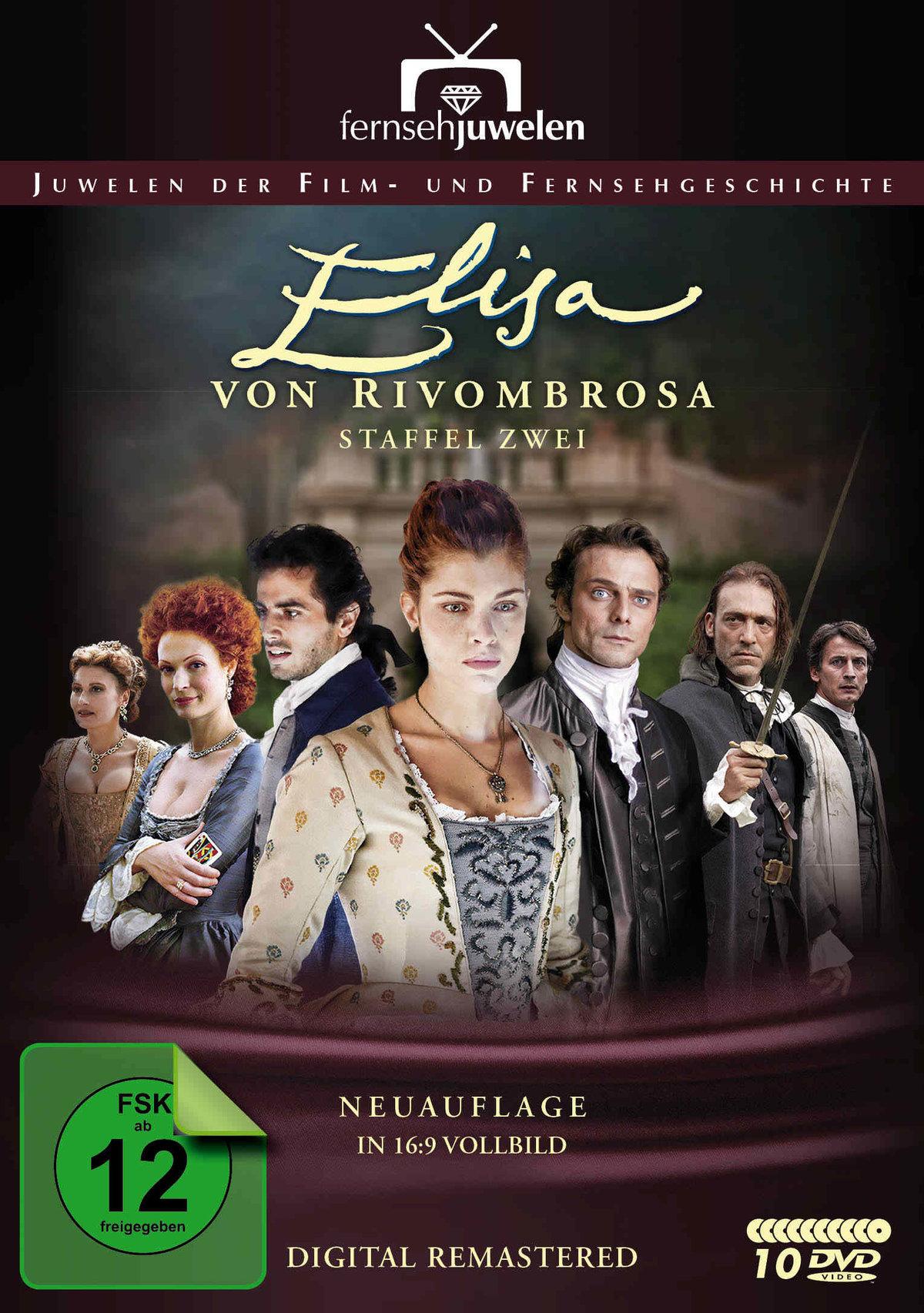 Bild Elisa von Rivombrosa - Staffel 2 (Neuauflage, 10 DVDs)